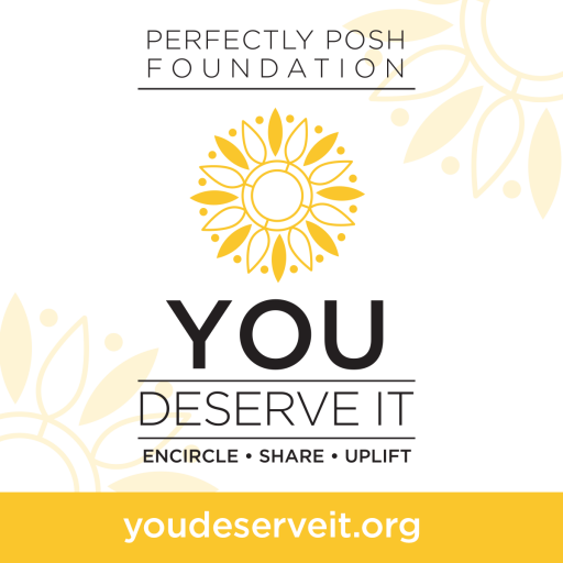 You Deserve It Logo & URL Ad
