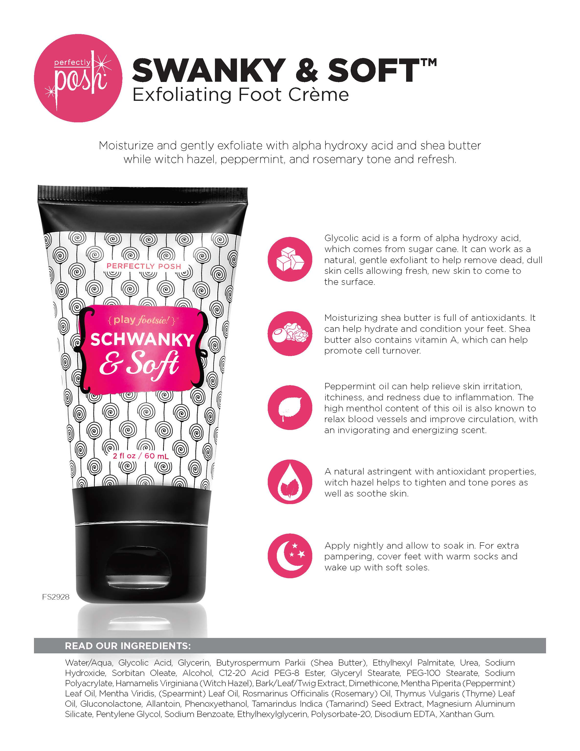 Schwanky & Soft Exfoliating Foot Creme